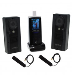 UltraCom Wireless Video Intercom with 2 x Caller Stations
