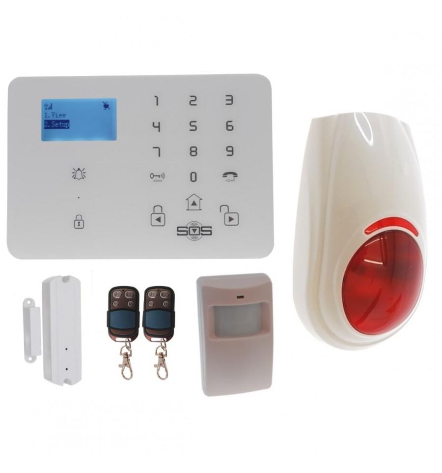 3g Kp9 Gsm Burglar Alarm 99 Zone Kit A Plus One Time Only