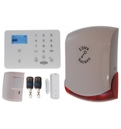 KP9 3G GSM Pet Friendly Alarm Kit C Pro