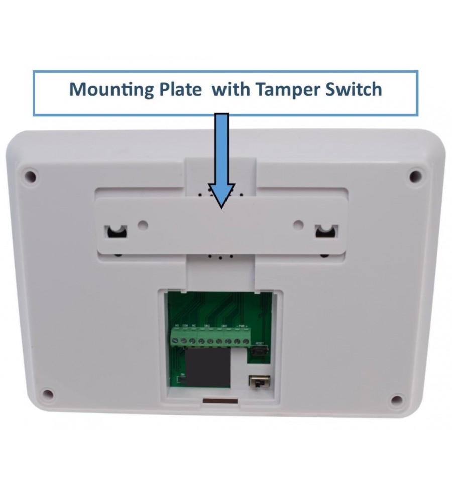 Kp9 Bells Only Pet Friendly Wireless Diy Burglar Alarm Kit D Plus 99 Channel Panel Mounting Bracket Tamper Switch