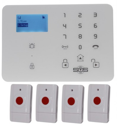 KP9 GSM Wireless Panic Alarm Kit A
