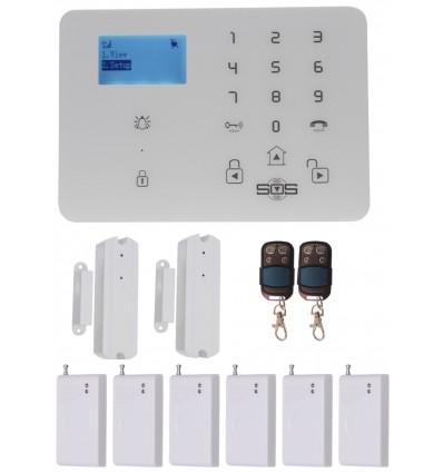 KP9 GSM Wireless Burglar Alarm Kit G