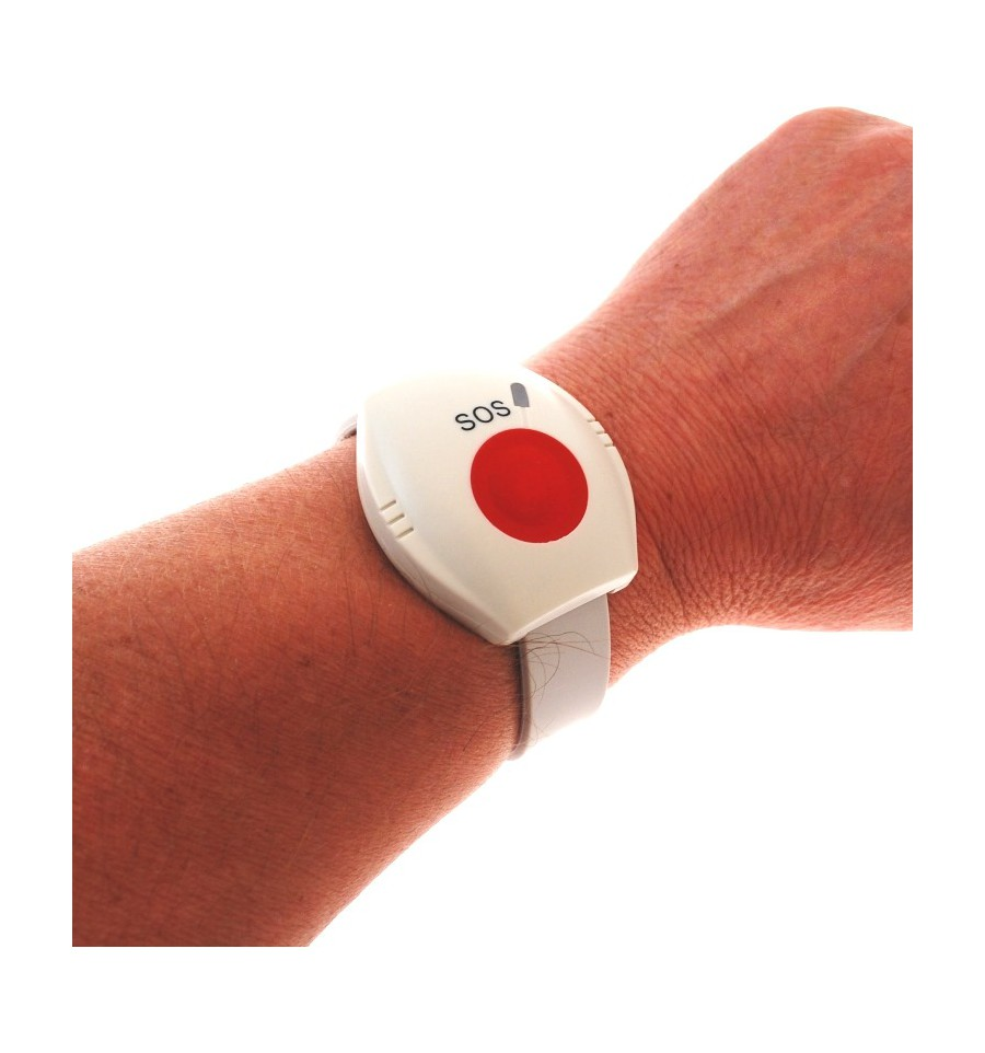 Kp9 Gsm Wireless 400 Metre Staff Panic Alarm D Wristband