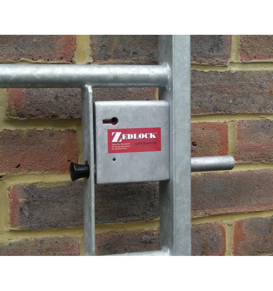 Lever secure gate lock steel mm gates zedlock a