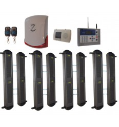 Comprehensive 2B GSM Perimeter Alarm & Wireless Siren