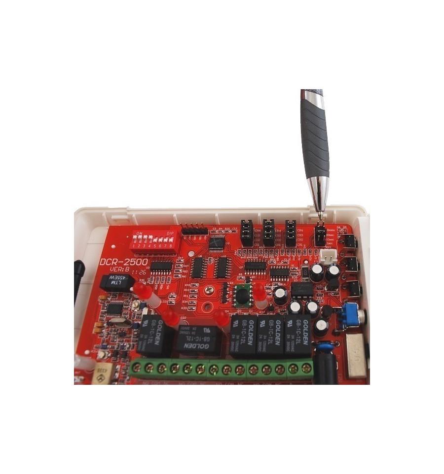 800 Metre Wireless Driveway Perimeter Alarm Siren Kit Electronic 1 External Pir Internal View