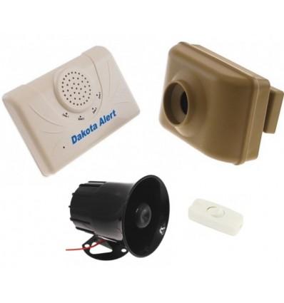 800 metre Wireless Driveway & Perimeter Alarm Siren Kit
