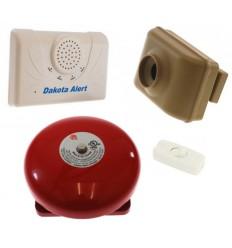 800 metre Wireless Driveway & Perimeter Alarm Bell Kit