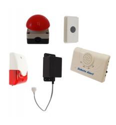 Long Range Wireless Panic Alarm with Latching Siren