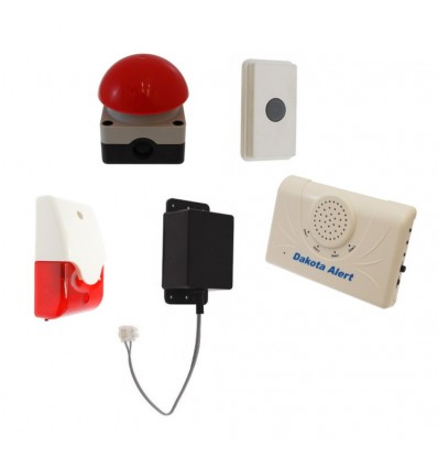 Wireless Panic Alarm with Latching Siren|Swimming Pool Special|