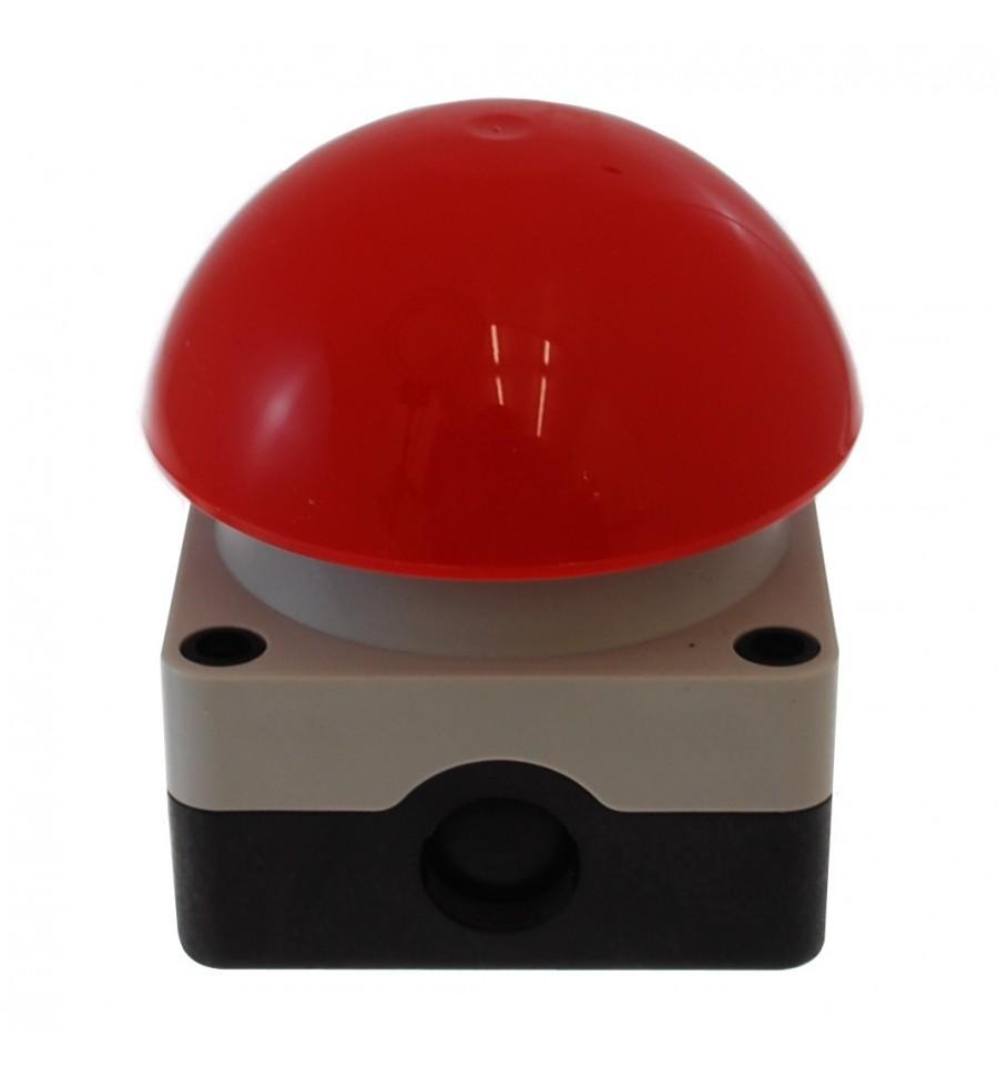 Large Red Wireless Kp Alarm Panic Button Weatherproof