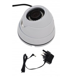 Small Real Dome Dummy CCTV Camera & Power Supply.
