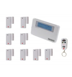 8 Channel Wireless Door Chime u0026 Alarm with optional Auto-Dialler.  sc 1 st  Ultra Secure Direct & Wireless Shop Door Alerts u0026 Bells | Visitor Bells | - Ultra Secure ...