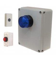 Time Lapse Panic Alarm (wired push button).