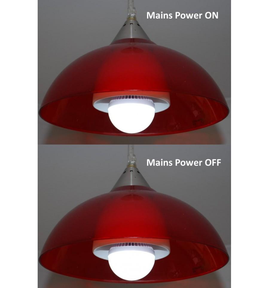 Power Failure Light Bulb 12 Watt Screw Fitting Pack Of Two
