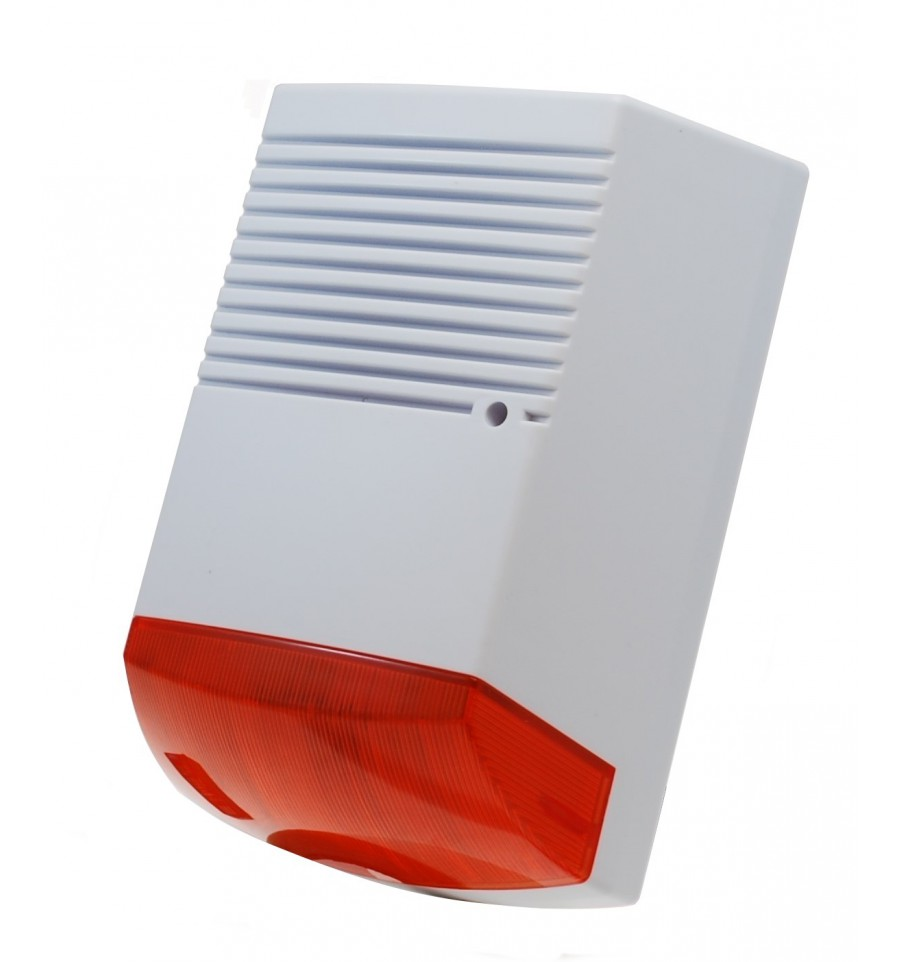 Solar Powered Dummy Alarm Bell Box House Alarm Household Security Product