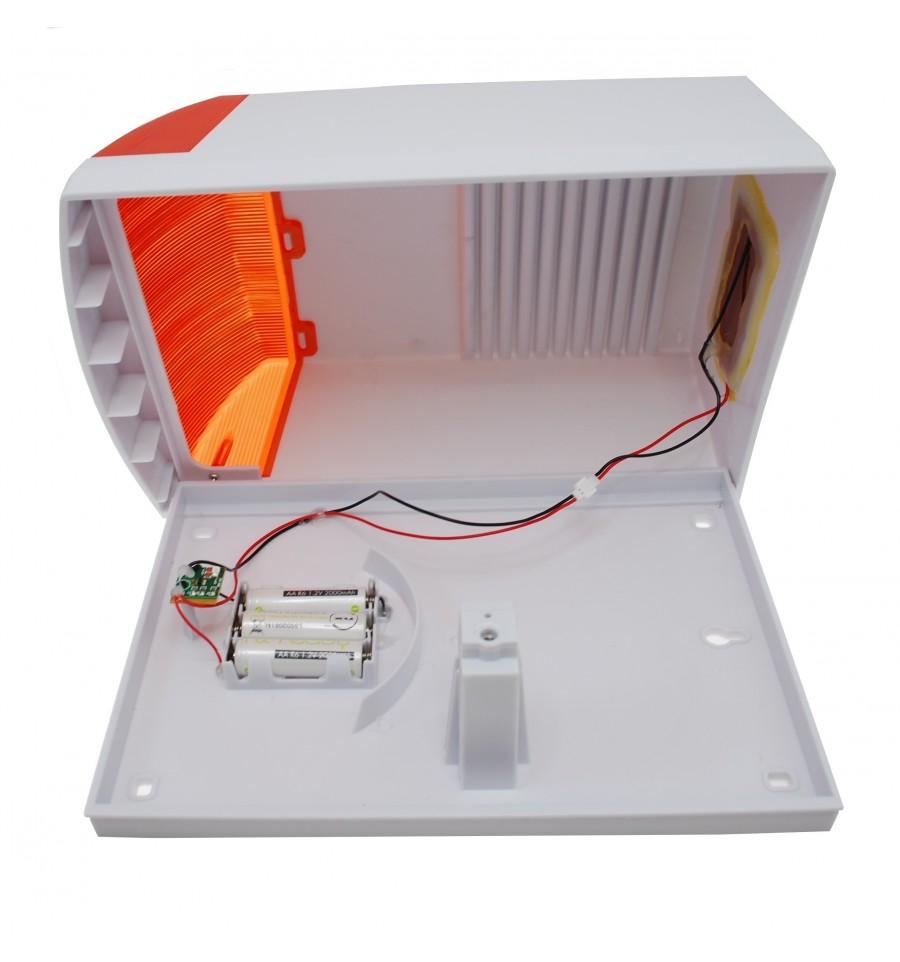 Large Solar Powered Dummy Alarm Siren