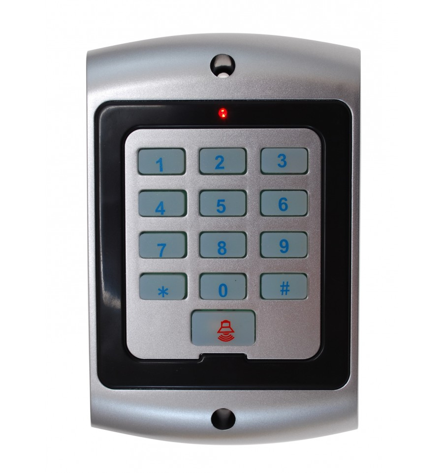 how to change an alarm key pad
