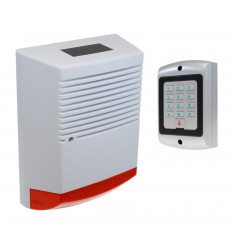 Large Solar Powered Dummy Alarm Siren & Dummy Alarm Keypad
