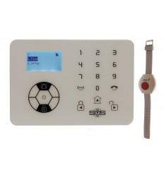 KP9 Siren Only Wireless Panic Alarmwith Wristband Wireless Panic Button