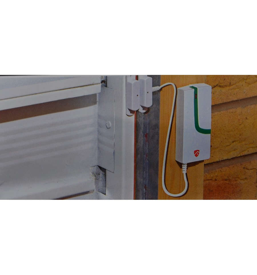 Wireless Garage Door Magnetic Door Contact Smart Wireless Alarms