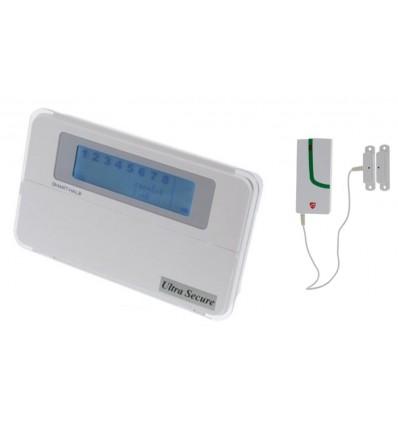Wireless Smart Alarm Telephone Dialler Garage Door Contact
