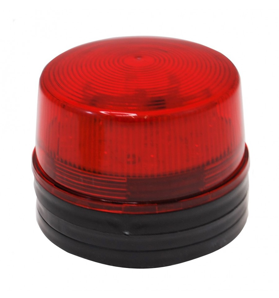 12v Red Flashing Led Strobe Light