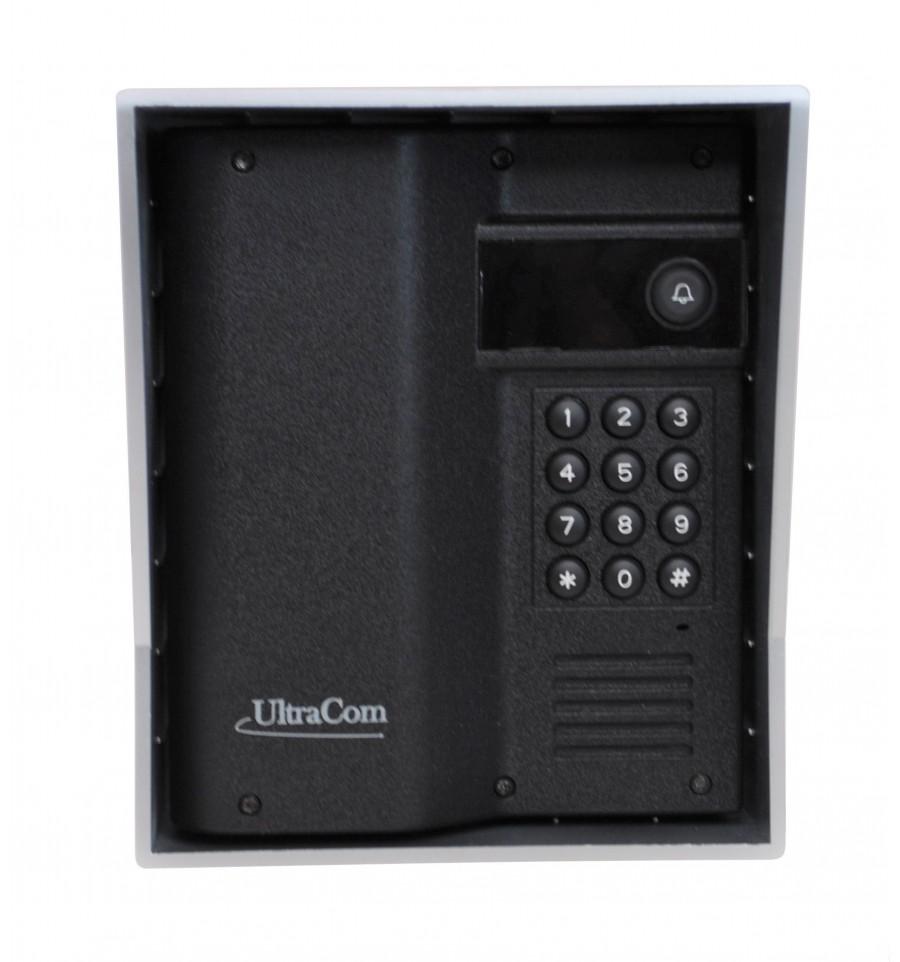 Ultracom Wireless Intercom Caller Station With Keypad