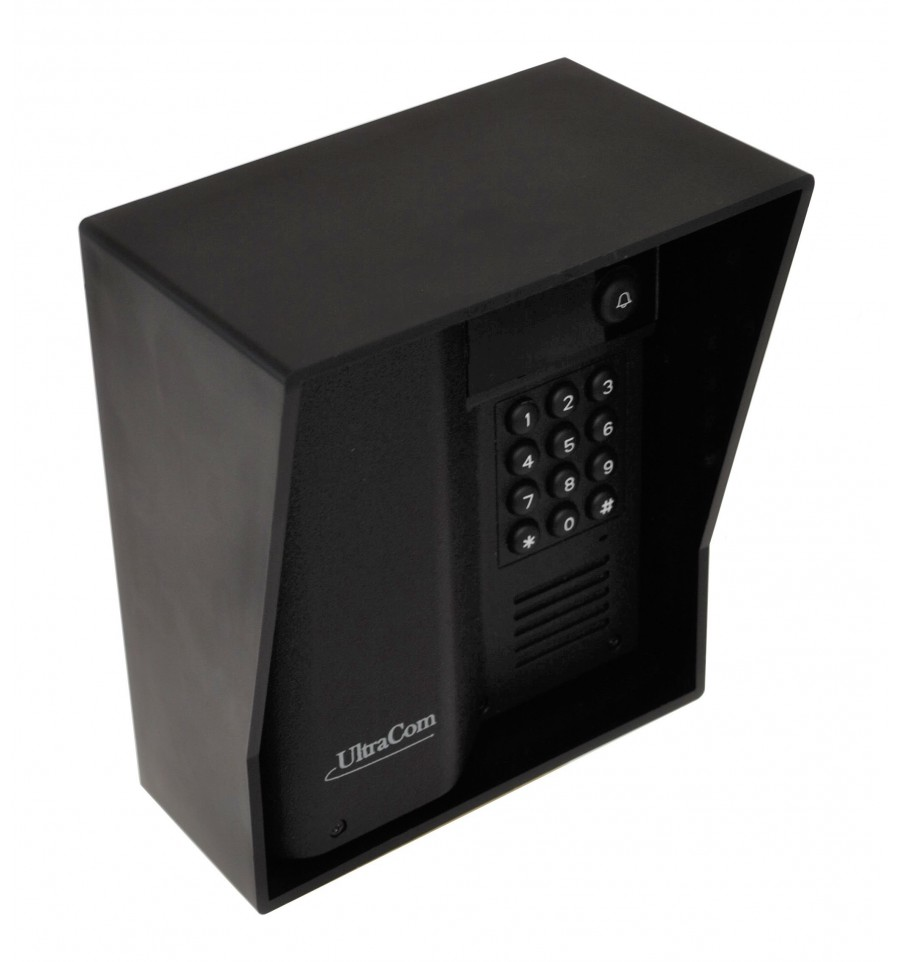 Ultracom Wireless Intercom Caller Station With Keypad