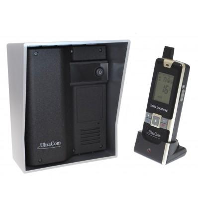 600 metre Wireless UltraCom Intercom System (no keypad) with Silver Outdoor Hood