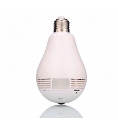 Wi-Fi (IP) CCTV Covert Camera in a Light Bulb
