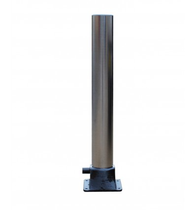 Large Fold Down Stainless Steel Bollard