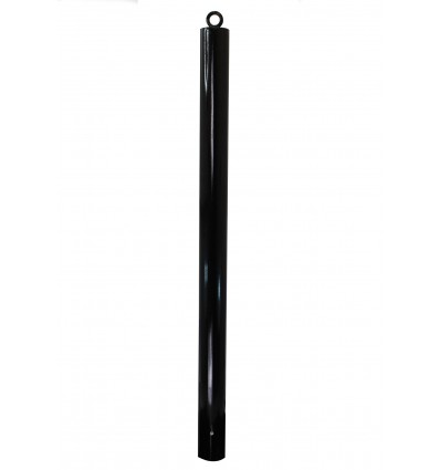 Black Spigot 76 mm Diameter Static Bollard (001-2940)