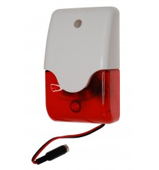 Mini Wireless Siren & Flashing Strobe