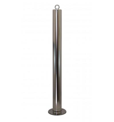 Top Eyelet for the Stainless Steel 76 mm Diameter Bolt Down Bollard