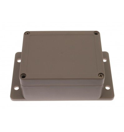 Compact Weatherproof IP65 Plastic Enclosure with Lugs