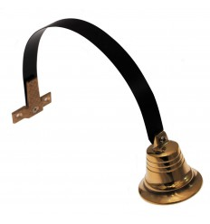 Large Brass Mechanical (traditional) Shop Doorbell