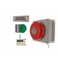 1000 metre Wireless Warehouse & Factory Bell System