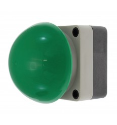 Large Water Proof Wired Green Button