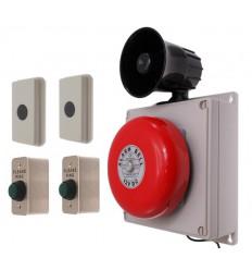 2-zone Long Range Wireless Bell Kit Special