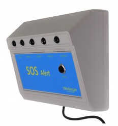 Additional 4 x Channel SOS Panic Alert Control Panel