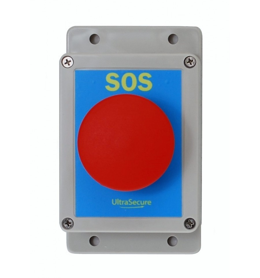 Sos 800 Metre Wireless Panic Button Assembly
