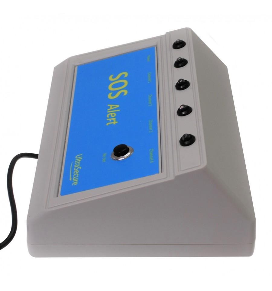 4 X Channel Sos 800 Metre Panic Alarm System