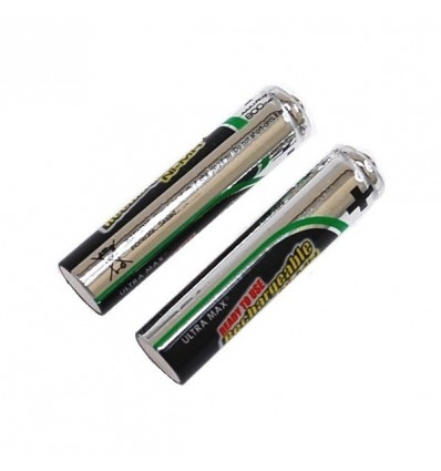 2 x AAA Re-Chargeable Batteries