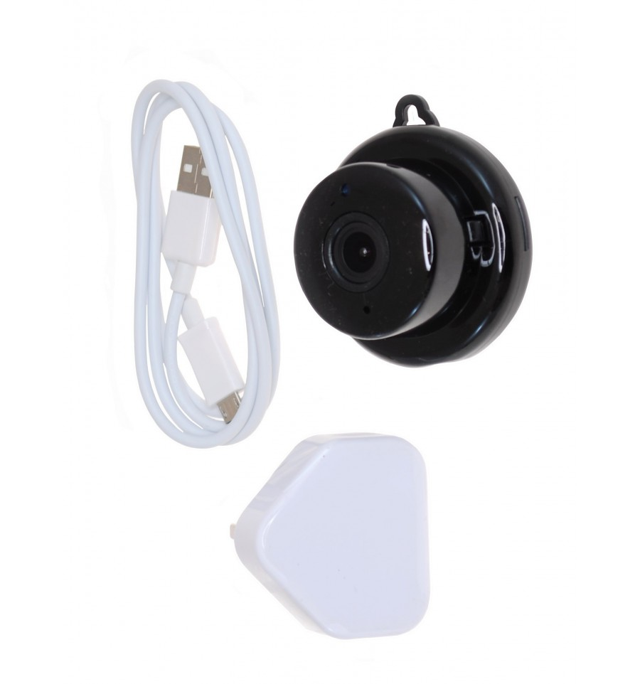 Mini Covert Cctv Security Camera Wi Fi Ip Camera