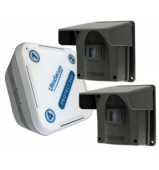 Protect-800 Long Range Wireless Driveway Alert Twin PIR Kit