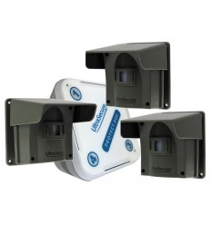 Protect-800 Long Range Wireless Driveway Alert Triple PIR Kit
