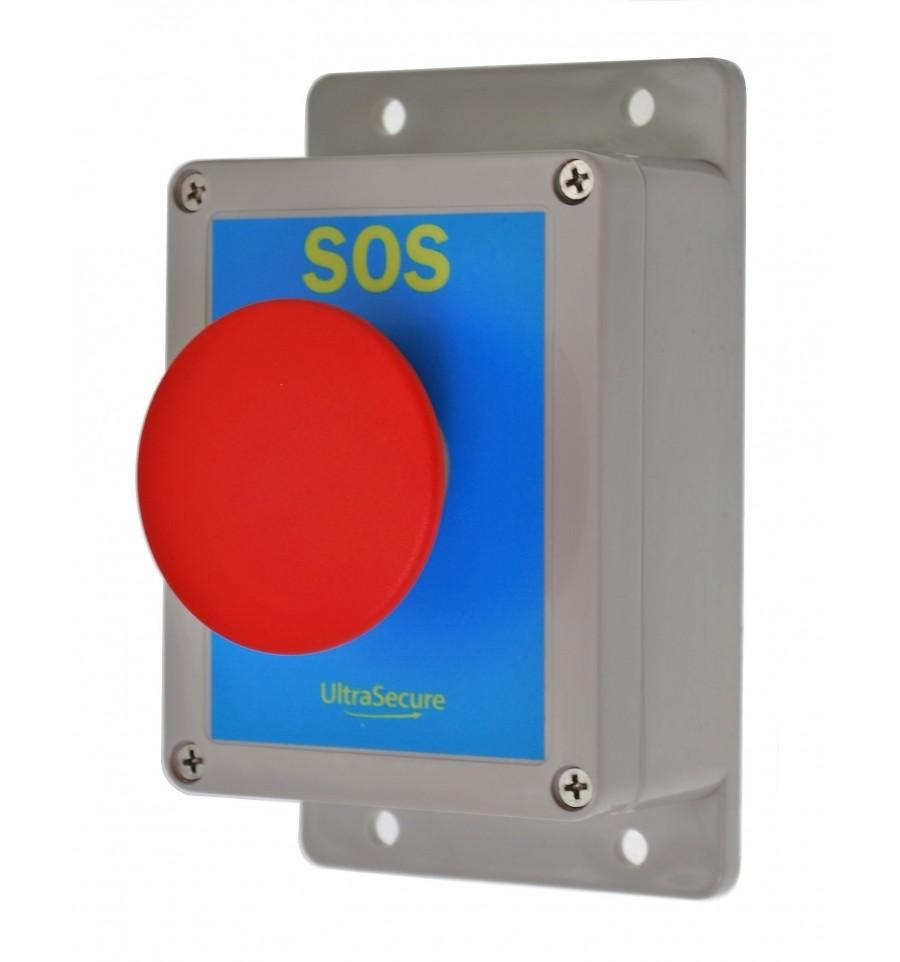 Long Range Wireless Sos Alarm Kit With Siren Amp Flashing Led