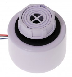 White Adjustable IP65 Siren (Front Panel Mounting)