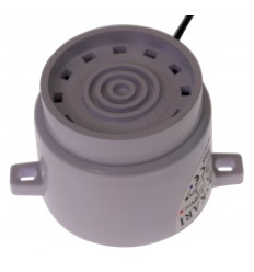 White Adjustable IP65 Siren (Lug Mounting)